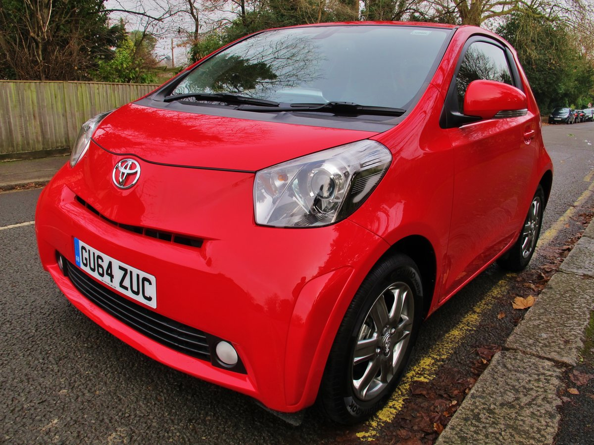 TOYOTA iQ2 AUTOMATIC 2014/64 1 OWNER  For Sale (picture 2 of 6)