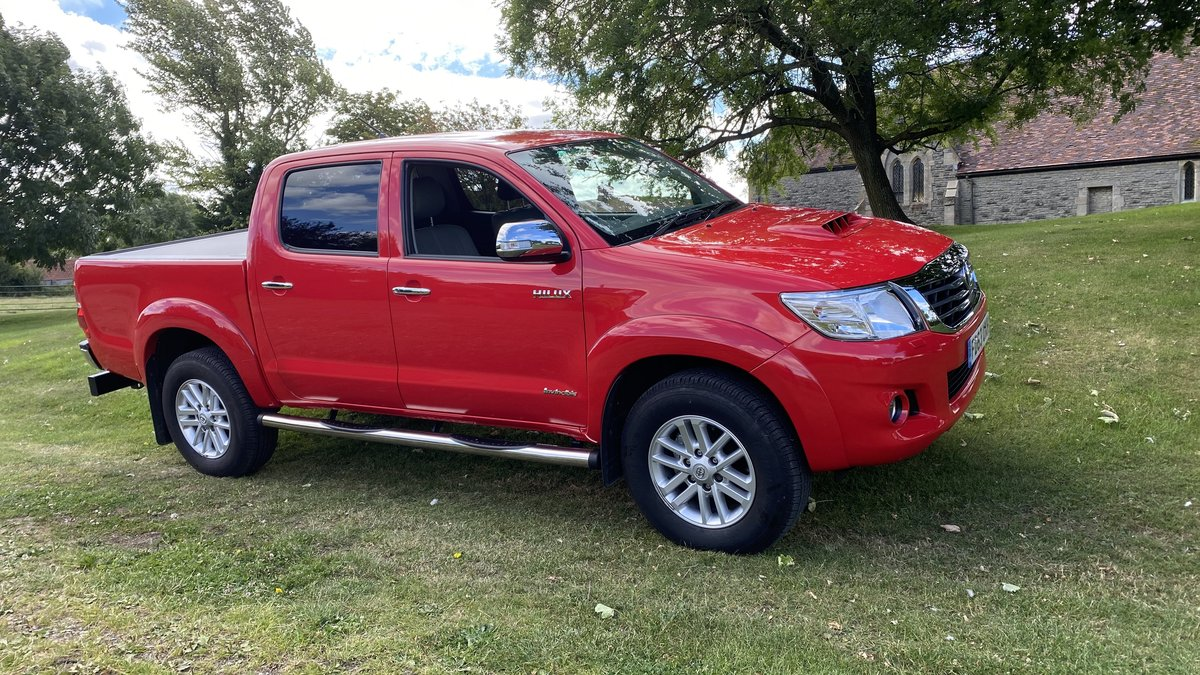2014 Toyota Hilux-Invincible-3500 miles from new,One owner,As new SOLD (picture 1 of 6)