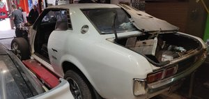 1977 Toyota celica ra23 with 2jz and manual