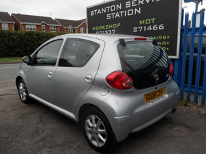 2008 TOYOTA AYGO 1LTR Platinum 5 DOOR JUST 51,000 MILES LONG MOT For Sale