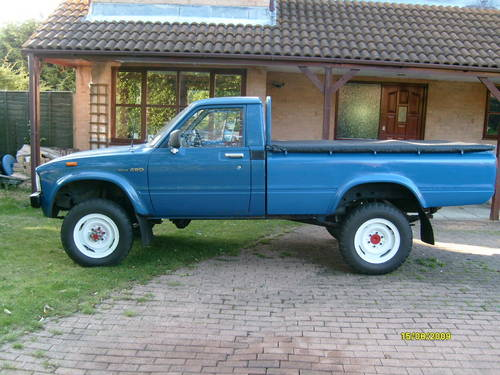 Fantastic 1981 Toyota Hilux 4X4 Mark 1 Sold Car And Classic Pabps2019 Chair Design Images Pabps2019Com