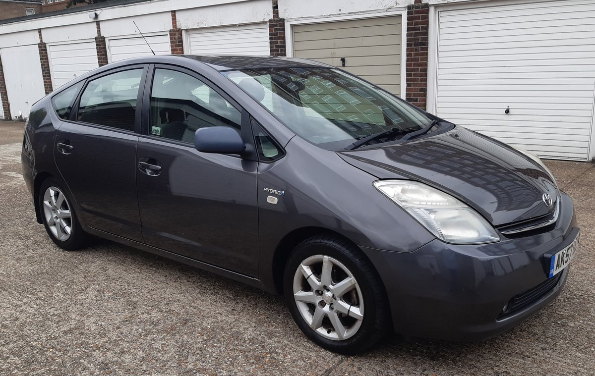 2007 toyota prius 1.5 hybrid history 6 months waranty For Sale (picture 1 of 6)