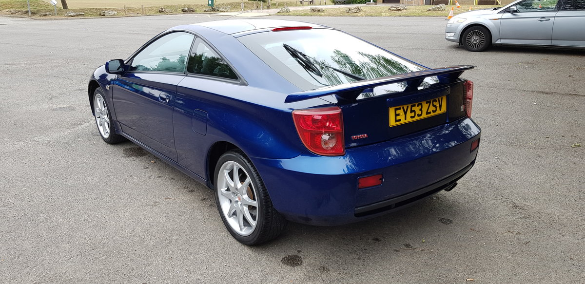 2003 Toyota Celica 1.8 T-Sport For Sale (picture 3 of 6)