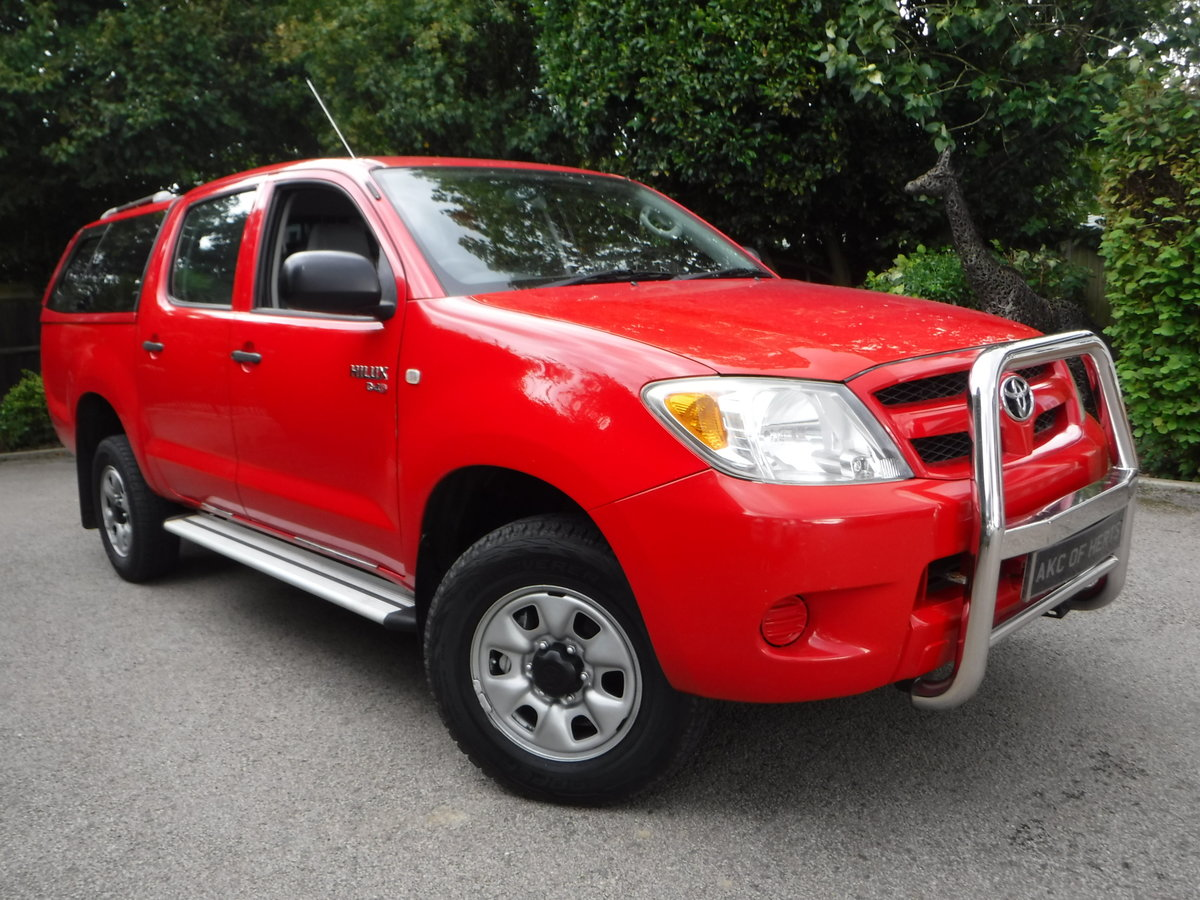 2007 Toyota Hilux 2.5 D-4D HL2 Crewcab Pickup 4dr Diesel Manual  SOLD (picture 1 of 6)