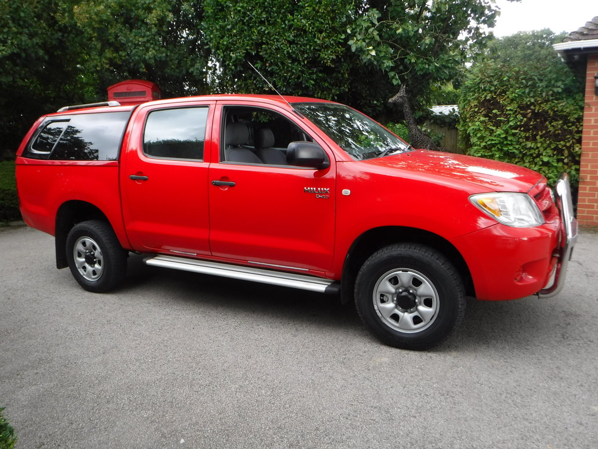 2007 Toyota Hilux 2.5 D-4D HL2 Crewcab Pickup 4dr Diesel Manual  SOLD (picture 2 of 6)