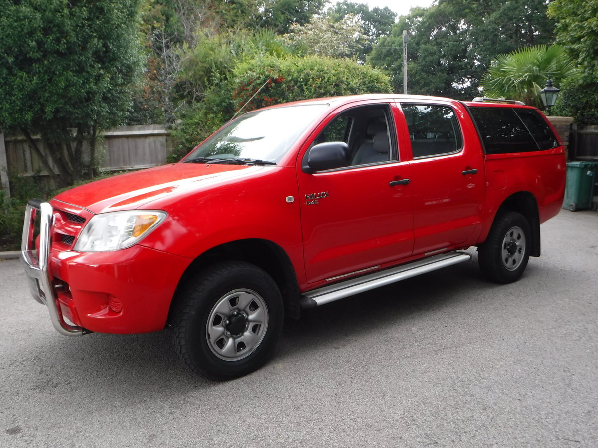 2007 Toyota Hilux 2.5 D-4D HL2 Crewcab Pickup 4dr Diesel Manual  SOLD (picture 3 of 6)