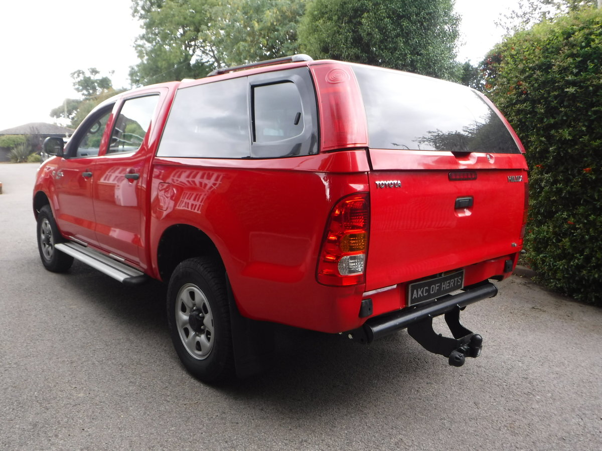 2007 Toyota Hilux 2.5 D-4D HL2 Crewcab Pickup 4dr Diesel Manual  SOLD (picture 4 of 6)