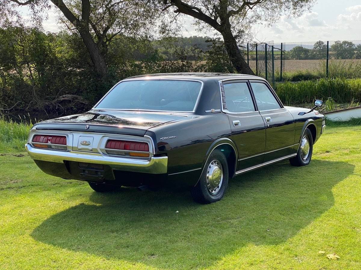 TOYOTA CROWN 1973 2.0 MANUAL MS60 * ONLY 70000 MILES * RETRO For Sale (picture 2 of 6)