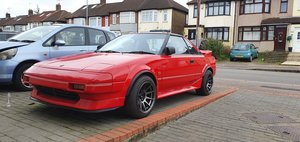 Toyota MR2 Beautiful t-bar RED AW11