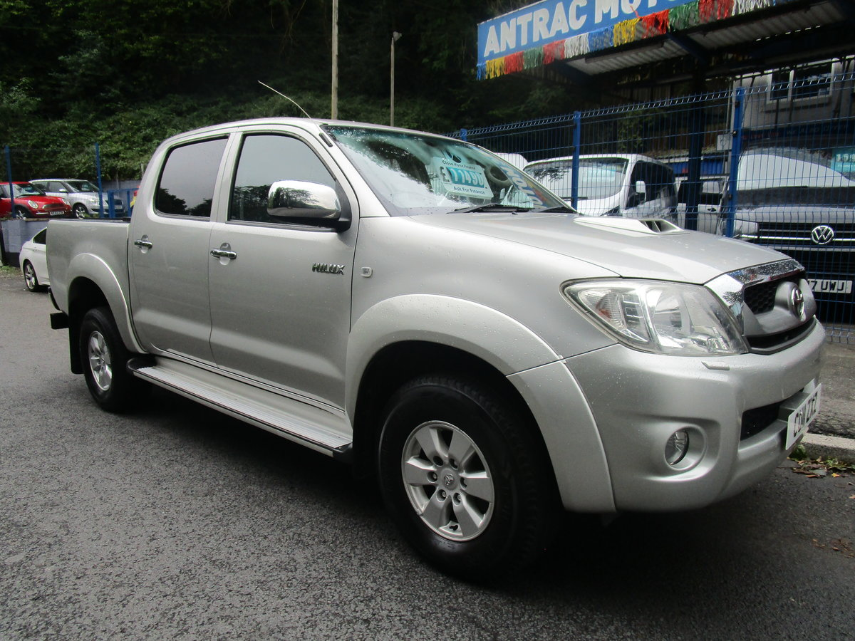2011 Toyota Hi-Lux 2.5D-4D 4WD HL3 For Sale (picture 1 of 6)