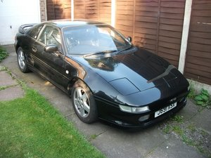 Toyota MR2  black, mot March 2021, owned 7 yrs