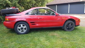 Toyota MR2 Turbo Trials and Competition Car