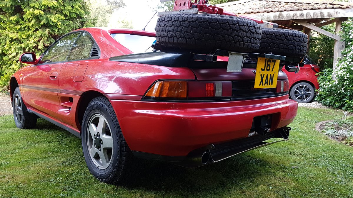 1992 Toyota MR2 Turbo Trials and Competition Car For Sale (picture 1 of 6)