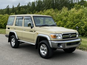 Toyota Landcruiser 70 series 30th Aniversary