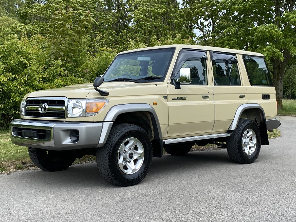 2015 Toyota Landcruiser 70 series 30th Aniversary For Sale ...
