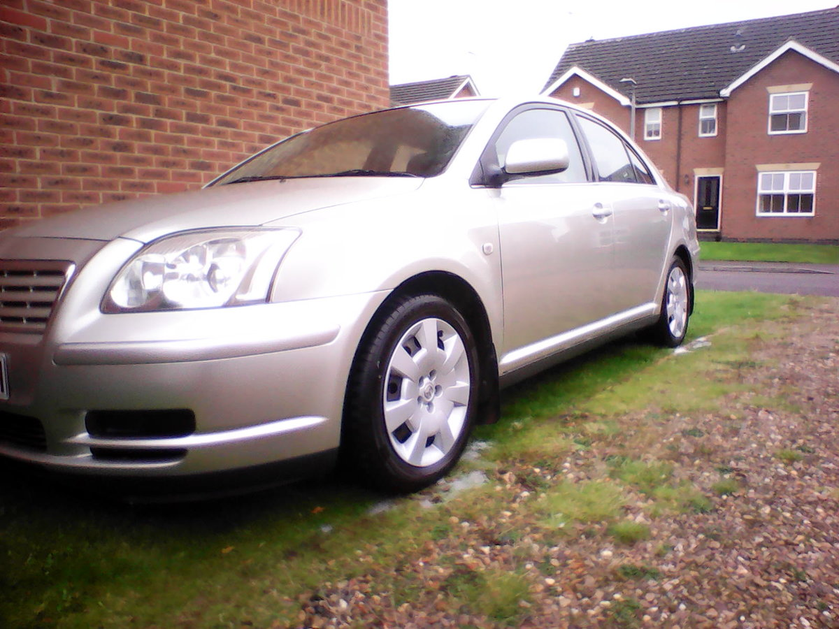 2003 Toyota avensis 1.8 vvti t2 low miles fsh For Sale (picture 1 of 6)