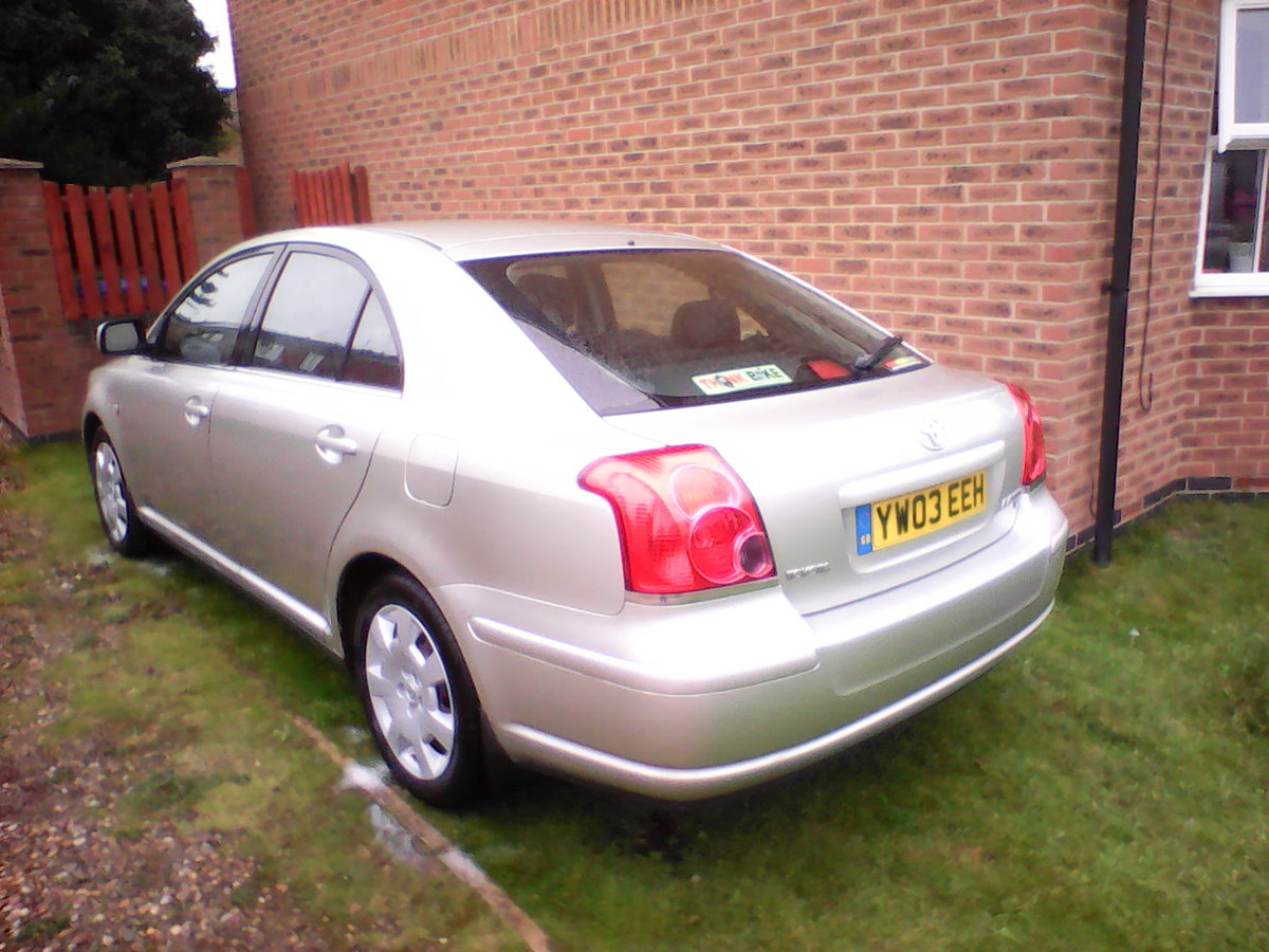 2003 Toyota avensis 1.8 vvti t2 low miles fsh For Sale (picture 2 of 6)
