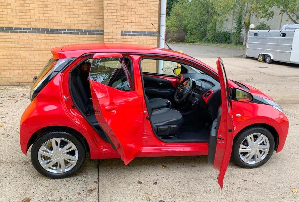 Toyota Aygo X-Pression 2015, 13,000 Miles For Sale (picture 3 of 6)