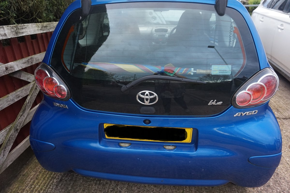 2011 TOYOTA AYGO For Sale (picture 1 of 6)