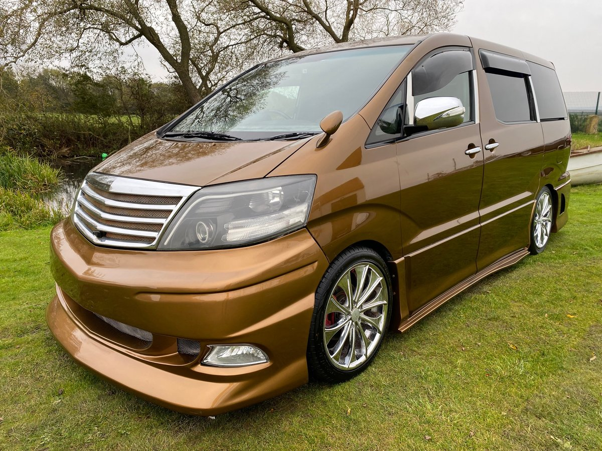 2006 TOYOTA ALPHARD CUSTOM WALD ART MUGEN BODY STYLE 2.4 AS AUTO SOLD (picture 1 of 6)