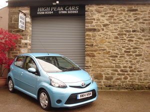 Picture of 2014 14 TOYOTA AYGO 1.0 VVTI MOVE 5DR. AUTO. 30682 MILES A/C