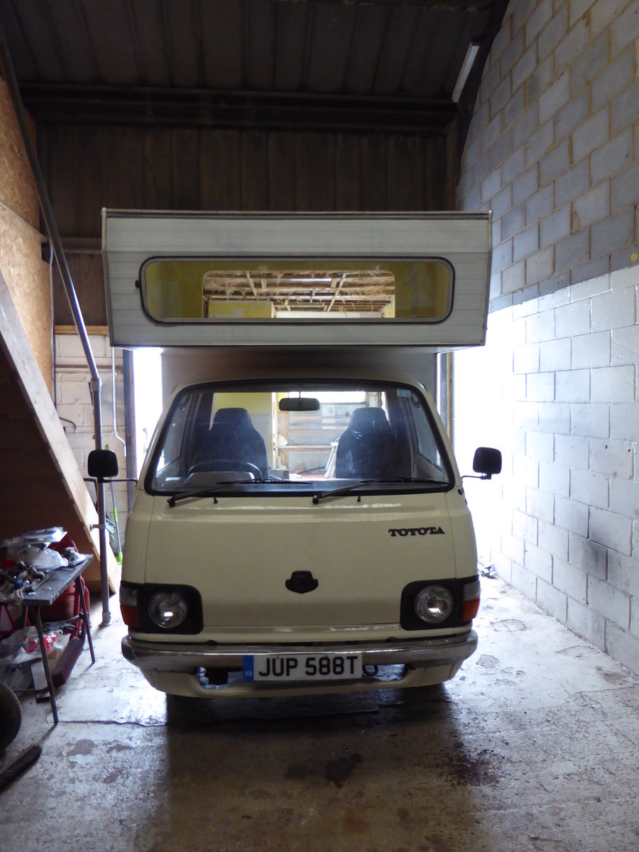 1978 Toyota Hi-ace motor home.... project For Sale (picture 4 of 4)