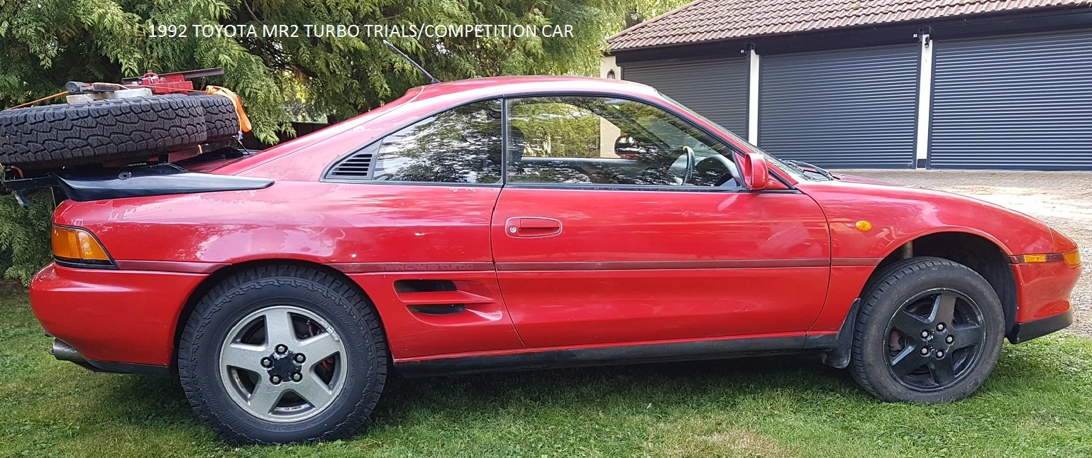 1992 Toyota MR2 Turbo Trials and Competition Car For Sale (picture 6 of 6)