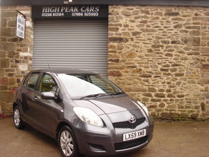 Picture of 2009 59 TOYOTA YARIS 1.33 VVTI TR 5DR. AUTO. 59679 MILES.