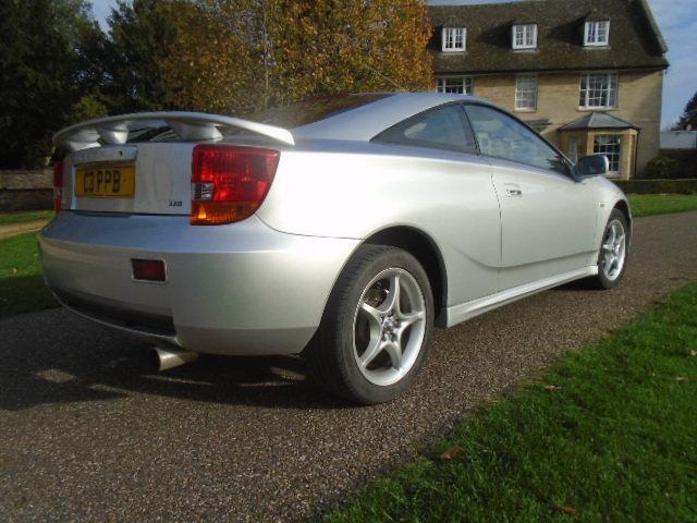 2001 Toyota Celica 1.8 VVTI For Sale (picture 2 of 6)