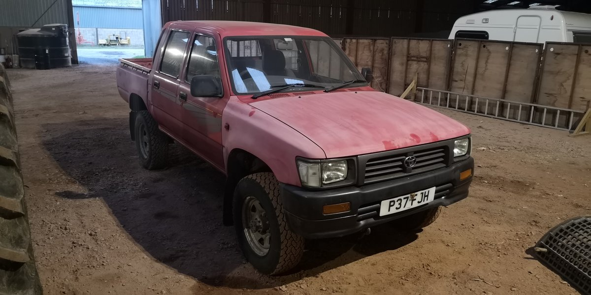 1997 Toyota HiLux MK3 double cab  For Sale (picture 1 of 3)