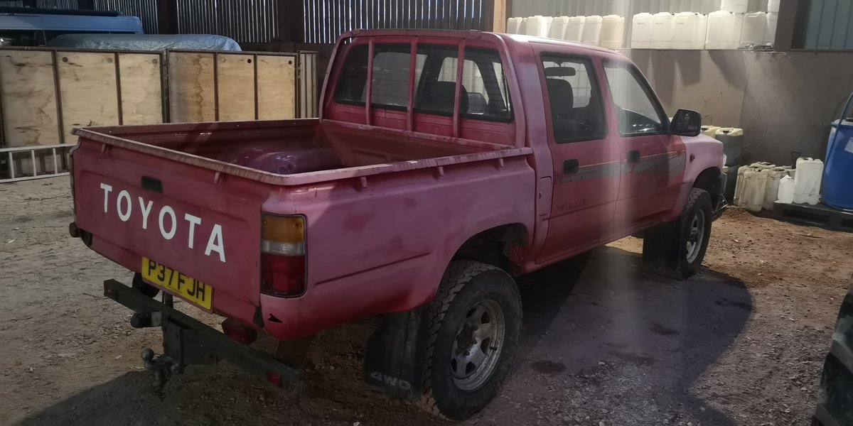 1997 Toyota HiLux MK3 double cab  For Sale (picture 2 of 3)