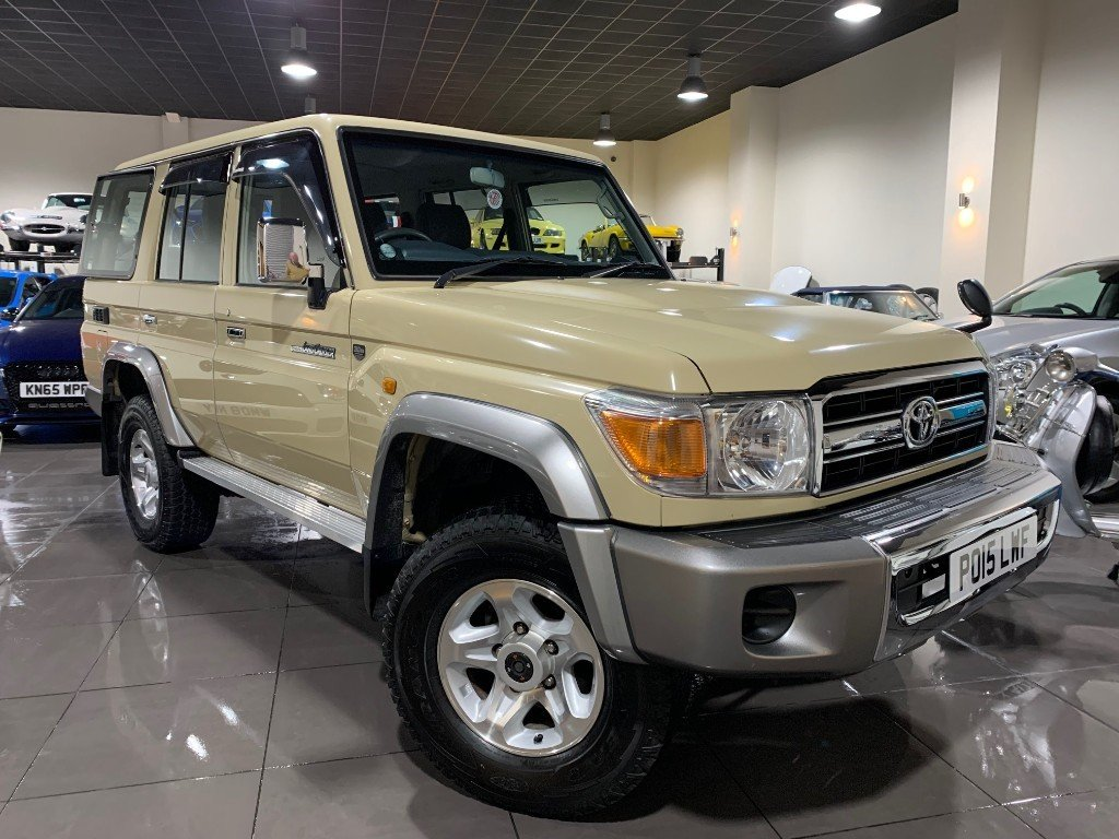 2015 Ultra rare RHD V6 4,0l Landcruiser Limited Edition SOLD (picture 1 of 6)