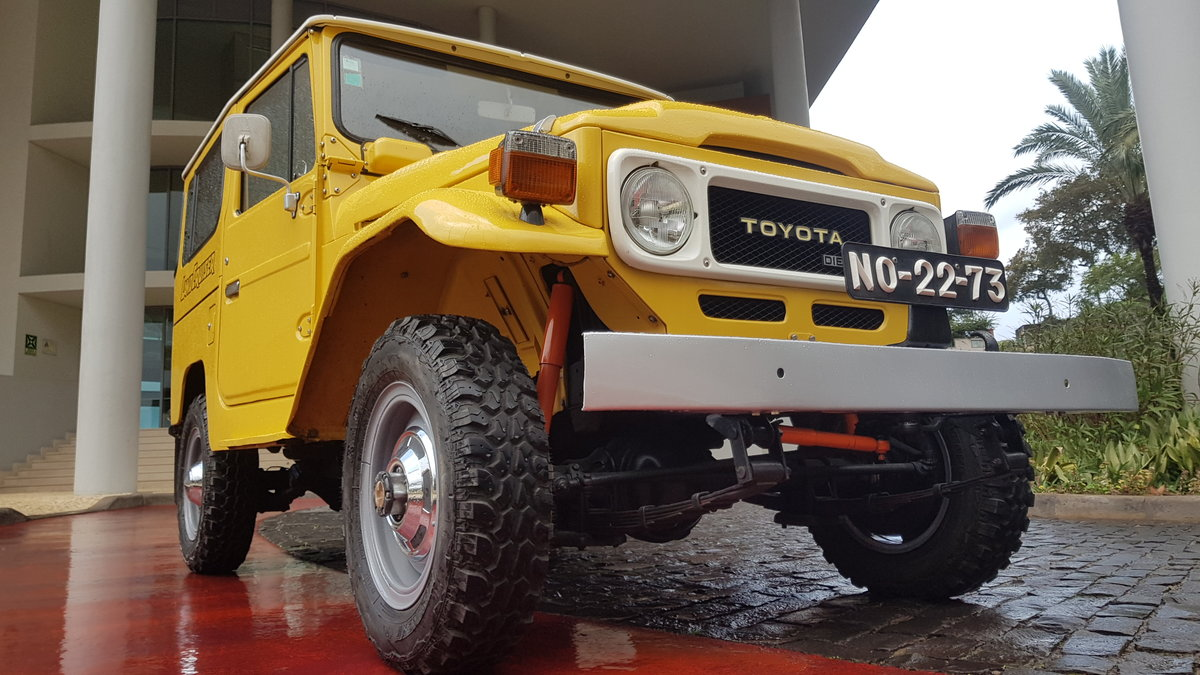Land Cruiser BJ40  -  Original