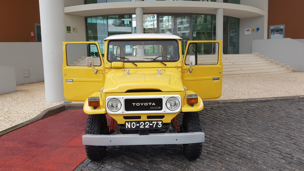 1980 Land Cruiser BJ40  -  Original For Sale (picture 3 of 12)