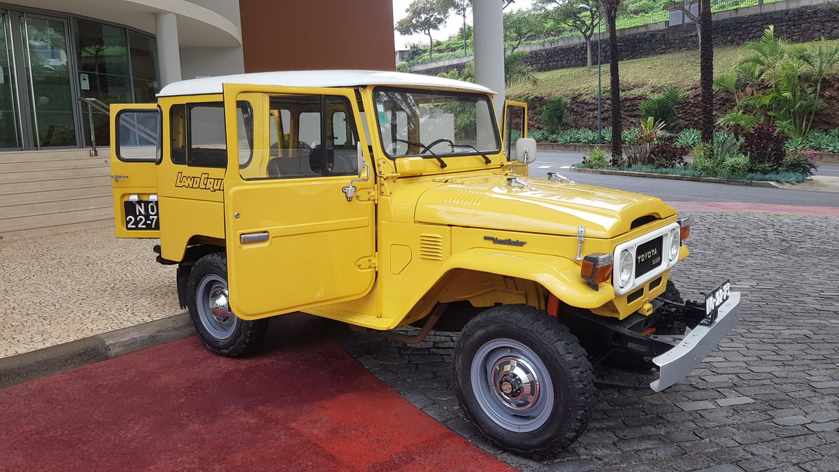 1980 Land Cruiser BJ40  -  Original For Sale (picture 4 of 12)