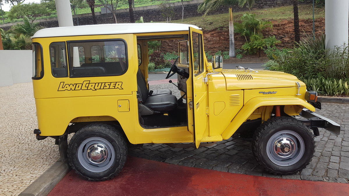 1980 Land Cruiser BJ40  -  Original For Sale (picture 5 of 12)