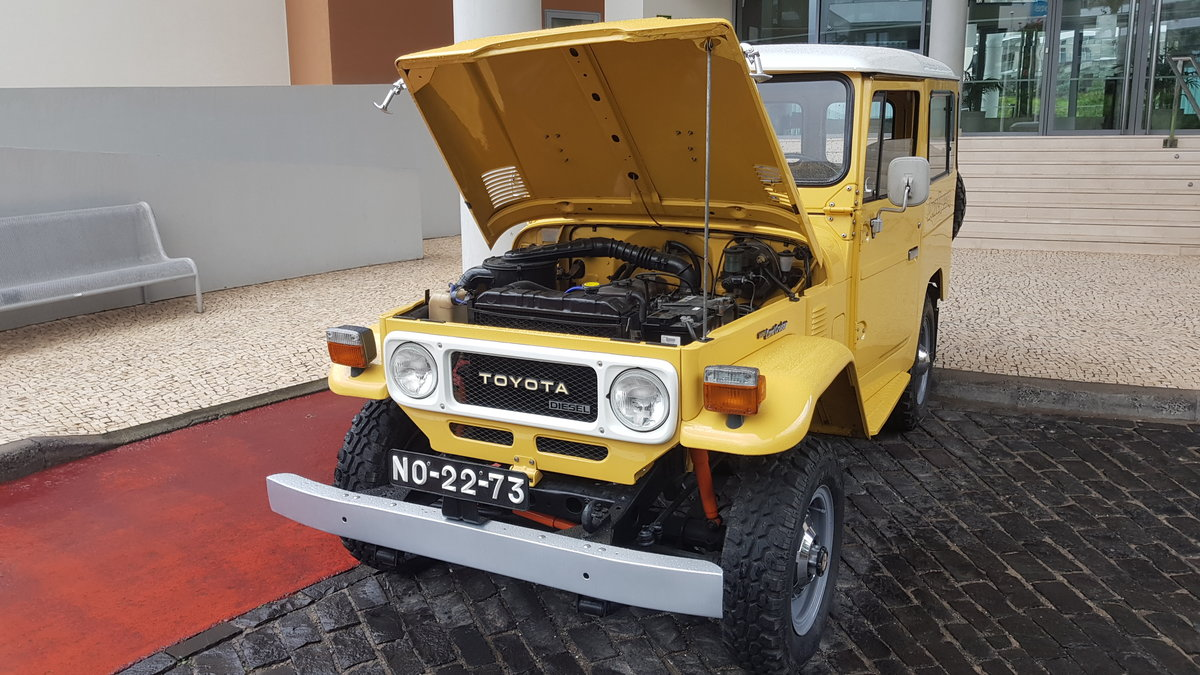 1980 Land Cruiser BJ40  -  Original For Sale (picture 11 of 12)