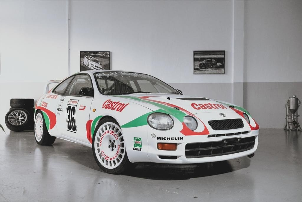 1996 Brand new build  this Celica GT-4 Gr. N rallycar. For Sale (picture 1 of 6)