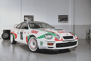 Brand new build  this Celica GT-4 Gr. N rallycar.