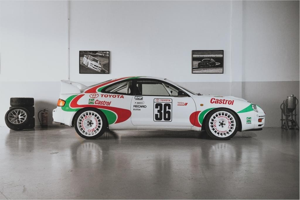 1996 Brand new build  this Celica GT-4 Gr. N rallycar. For Sale (picture 2 of 6)