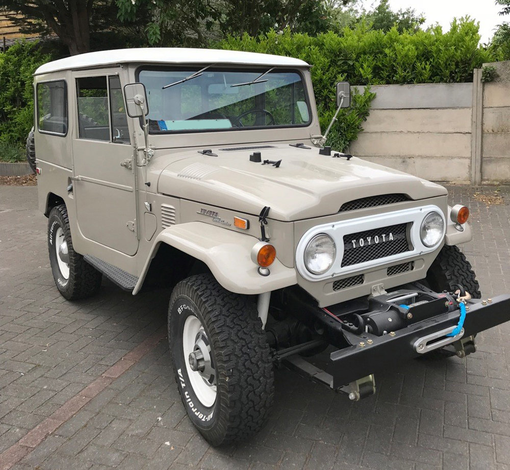 1972 Toyota FJ-40 Land Cruiser 4x4 For Sale (picture 1 of 5)