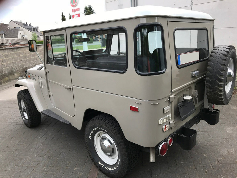 1972 Toyota FJ-40 Land Cruiser 4x4 For Sale (picture 2 of 5)
