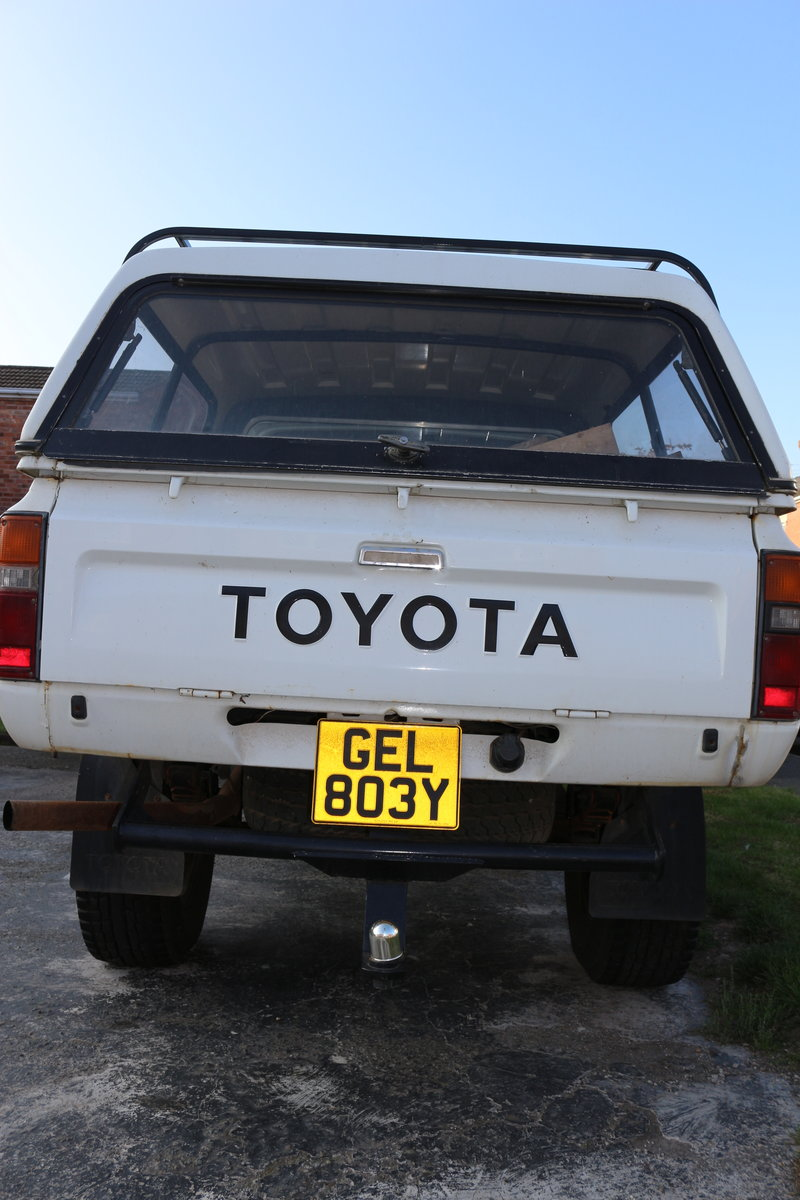 1982 Toyota HiLux ln46 Doublecab pickup turbo diesel Taxex (soon) For Sale (picture 10 of 12)