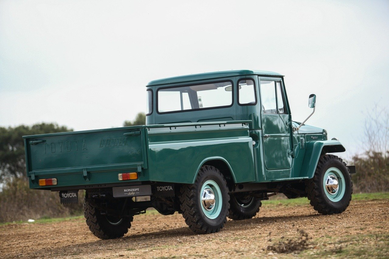 1974 Toyota Land Cruiser HJ 45 Pick up For Sale (picture 2 of 12)