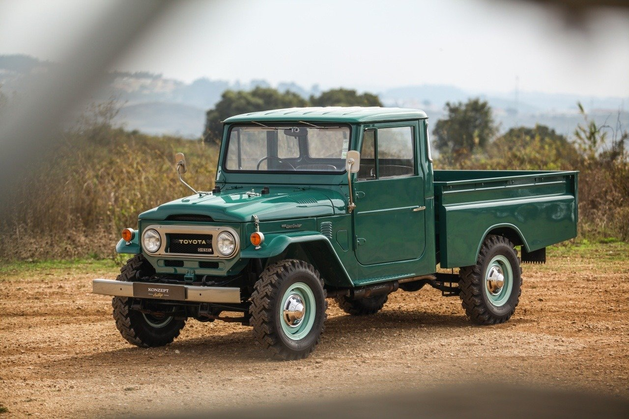 1974 Toyota Land Cruiser HJ 45 Pick up For Sale (picture 3 of 12)
