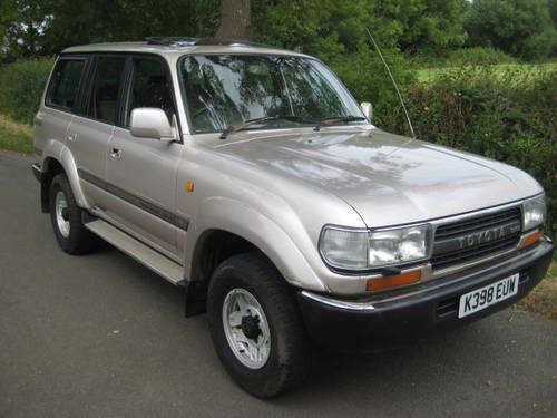 1992 Toyota Landcruiser Amazon 4.2 Turbo Diesel LWB 5 sp manual. For Sale (picture 1 of 6)