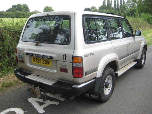 1992 Toyota Landcruiser Amazon 4.2 Turbo Diesel LWB 5 sp manual. For Sale (picture 5 of 6)