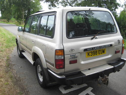 1992 Toyota Landcruiser Amazon 4.2 Turbo Diesel LWB 5 sp manual. For Sale (picture 6 of 6)