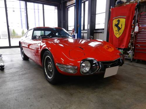 1-owner 1968 2000GT 16,000km For Sale (picture 1 of 6)