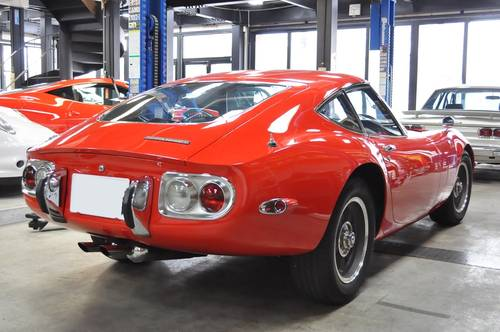 1-owner 1968 2000GT 16,000km For Sale (picture 3 of 6)